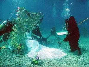 Heiraten unterwasser
